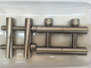 ANSI 316Ti / EN 1.4571, 317L / EL 1.4438 τμήματα από ανοξείδωτο χάλυβα - σειρά ράβδων σύνδεσης