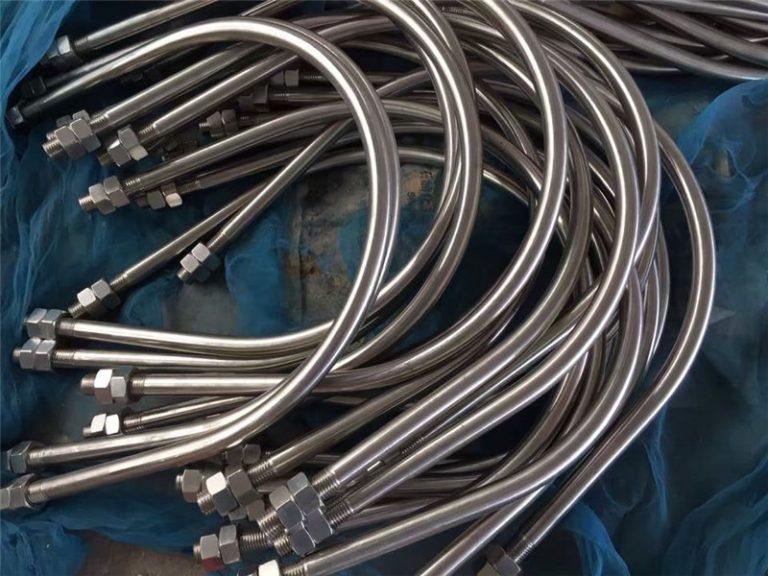 alloy825 en 2.4858 από ανοξείδωτο χάλυβα u κράμα μπουλόνι718 en2.4668 από την Κίνα