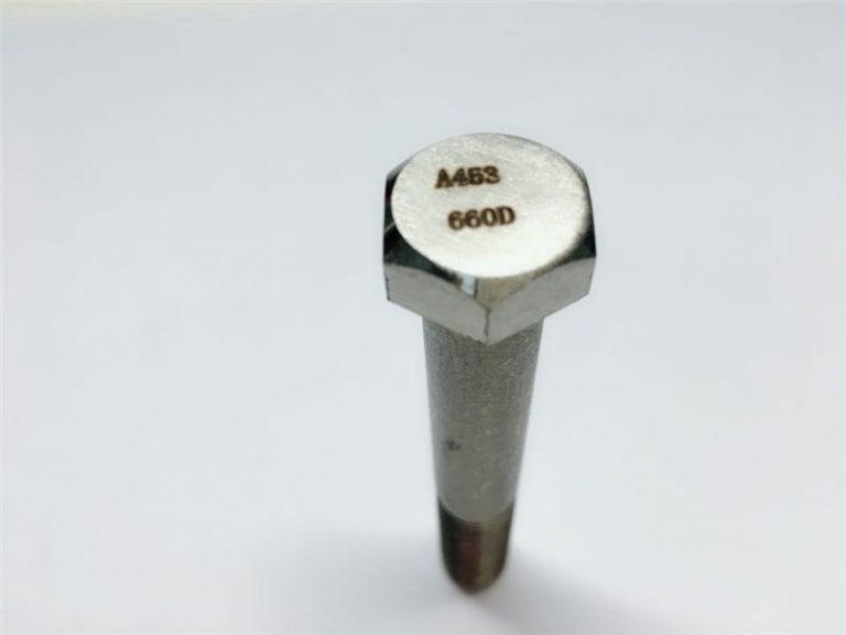 a286 συνδετήρες υψηλής ποιότητας astm a453 660 en1.4980 εξαρτήματα μηχανικών εξαρτημάτων