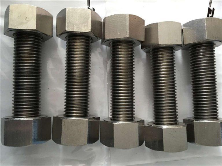 κράμα νικελίου 400 en2.4360 πλήρης ράβδος σπειρώματος με συνδετήρα παξιμαδιών
