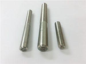 Νο.101-317L στρογγυλή ράβδο, σφιγκτήρα σπειρώματος ράβδων