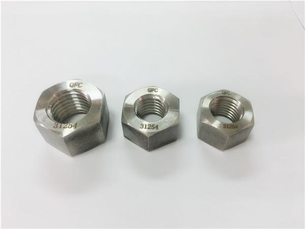 gh2132 / a286 συνδετήρες από ανοξείδωτο χάλυβα βαριά εξαγωνικά παξιμάδια m6-m64