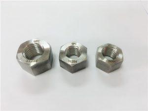 Αριθ. 109-S31254 A193 B8MLCuN βαρύ εξαγωνικό παξιμάδι