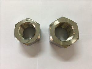 Νο.111-Κατασκευή κράματος νικελίου A453 660 1.4980 εξαγώνια καρύδια