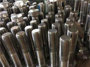Αριθ. 12-εξαγωνικών βιδών ISO4014 ημικύματος A193 B8, B8M, B8T, B8C SS σφιγκτήρας