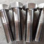 nitronic 50 xm-19 εξαγωνικό μπουλόνι din931 uns s20910
