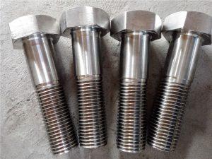Νο.15-Nitronic 50 XM-19 Εξάγωνος κοχλίας DIN931 UNS S20910