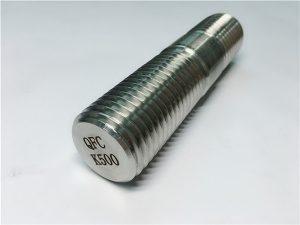 Νο.62-Monel K500 ράβδο με σπείρωμα