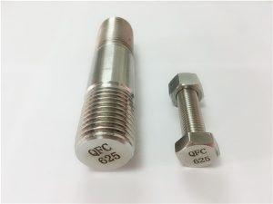 Νο.71-625 συνδετήρες inconel σε νικέλιο