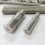 duplex 2205 s32205 2507 s32750 1.4410 συνδετήρας σκληρού δίσκου υψηλής ποιότητας ξύλινη αγκύλη με σπείρωμα