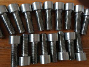 No.9-Incoloy 926 EN1.4529 UNS N08926 συνδετήρας κοχλία κεφαλής υποδοχής