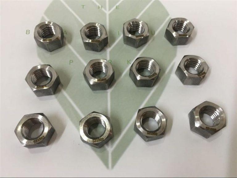διπλής όψης 2205 a182 f51 uns s31803 en1.4462 Εξάρτημα σύνδεσης από ανοξείδωτο ατσάλι DIN933
