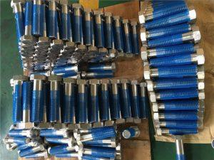 SUS 304L EN1.4306 Εξαγωνικά μπουλόνια στερεώσεως SS ISO4014 ημικύματος