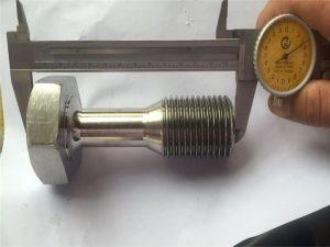 προσαρμοσμένο cnc στροφή εξαρτήματα μηχανική ακρίβεια βιδωτή