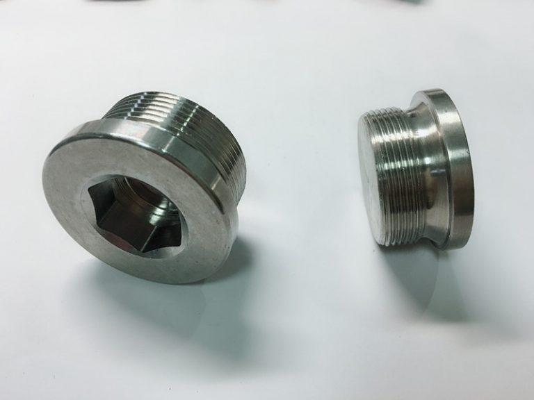 προσαρμοσμένο βιδωτό δακτύλιο από ανοξείδωτο χάλυβα με δακτύλιο ss