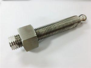 προσαρμοσμένη υψηλής ποιότητας cnc τόρνο στρέψης τιτανίου μπάλα σφιγκτήρα stud