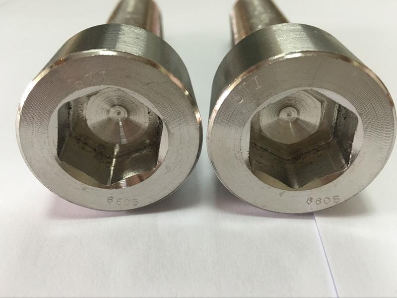 κατασκευαστές συνδετήρων DIN 6912 κοχλίας κεφαλής εξάγωνου τιτανίου