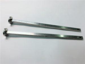 προμηθευτής συνδετήρων υλικού 316 από ανοξείδωτο χάλυβα επίπεδη κεφαλή τετράγωνος λαιμός din603 μ4 μπουλόνι μεταφοράς