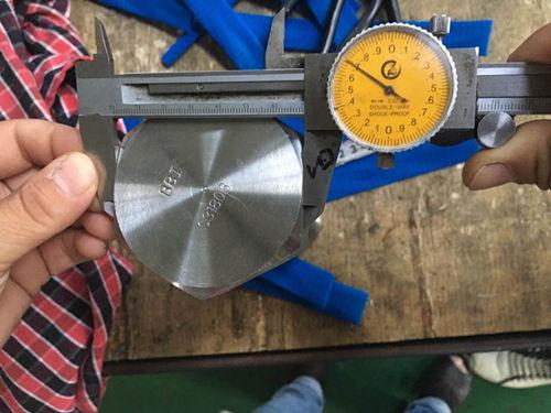 Δοκιμή διαμέτρου βιδών κεφαλής S31803