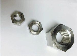 Δακτύλιος 2205 / F55 / 1.4501 / S32760 από ανοξείδωτο χάλυβα βαρύ εξάγωνο παξιμάδι M20
